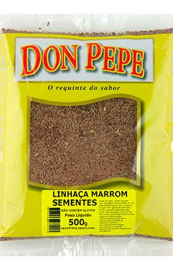 Linhaca Marrom sementes-500g
