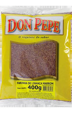 Farinha Linhaca Marrom - 400g